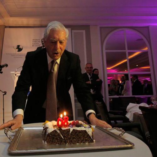 Escritor Vargas Llosa