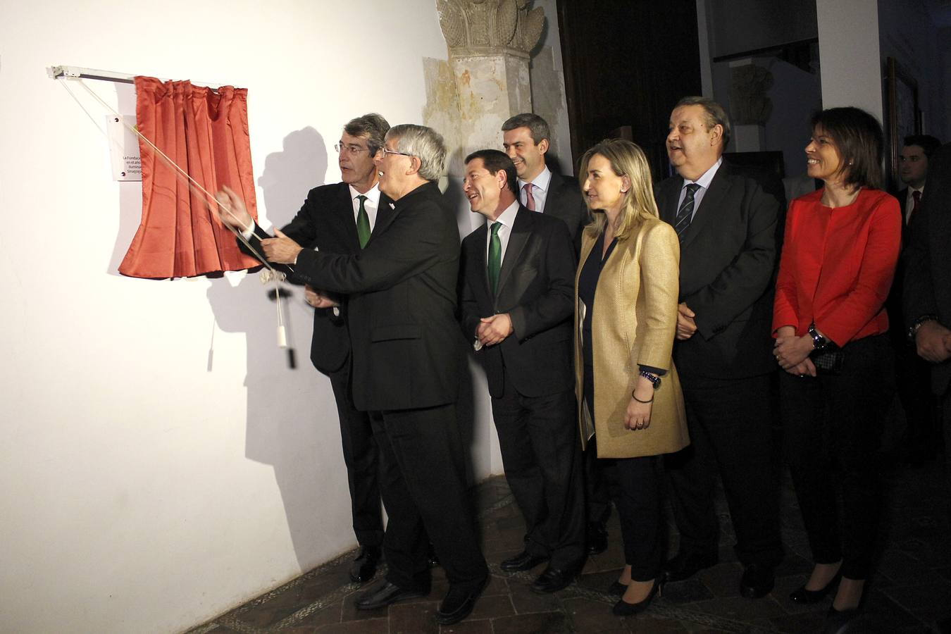 el arzobispo de toledo inaugura la nueva iluminacion de santa maria la blanca