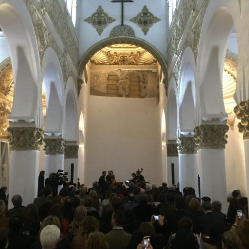 inauguracion iluminacion sinagoga santa maria la blanca arzobispado toledo