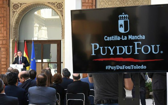 Presentación del parque temático de Puy du Fou en Toledo